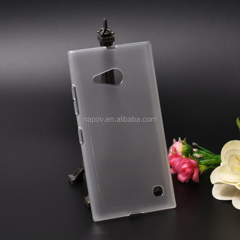 High Quality Made in China for Nokia Lumia 730 TPU Cell Phone Skin Back Cover Case