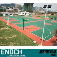 Acrylic Basketball Court Sports Flooring
