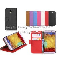 Wallet flip leather case for samsung GALAXY Note3 Neo N7505