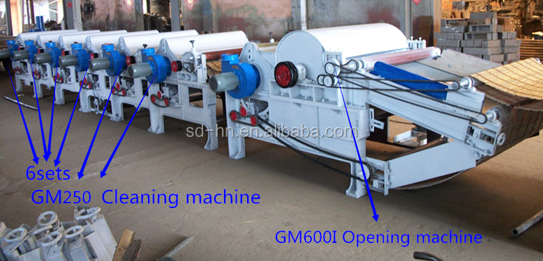 Polyester Waste Yarn Recycling Machine