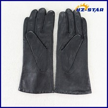 HZS-13046004 Wholesale high quality cheap fashionable leather gloves