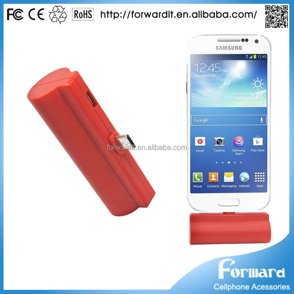 BSCI factory power bank gift 2200mah digital display UL certified