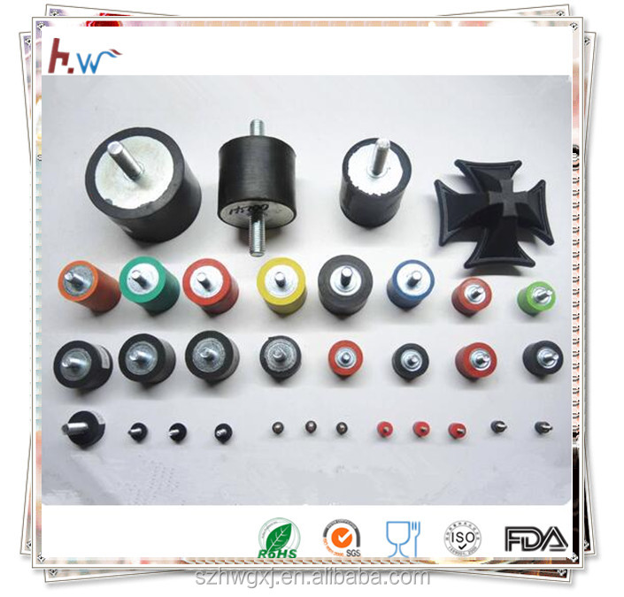 Rubber to metal bonded parts, Rubber to metal bonding parts