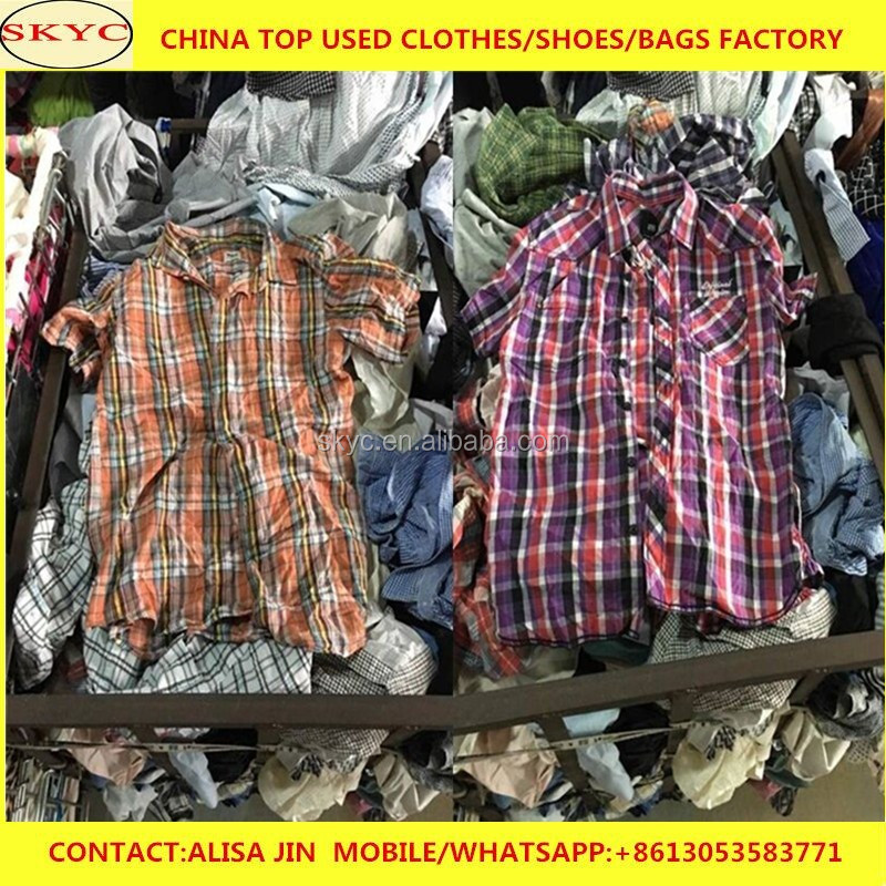 overstock summer used clothing UK second hand clothing suppliers export to Africa markets