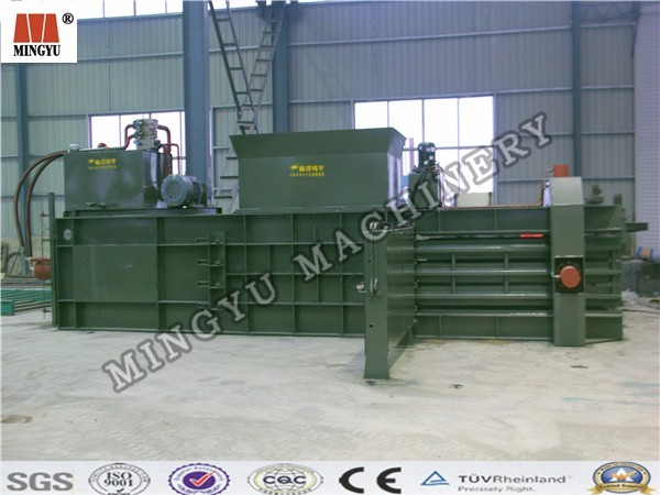 20kg 25kg 30kg bale fragment trash electrohydraulic stress bagging machine for protein feed