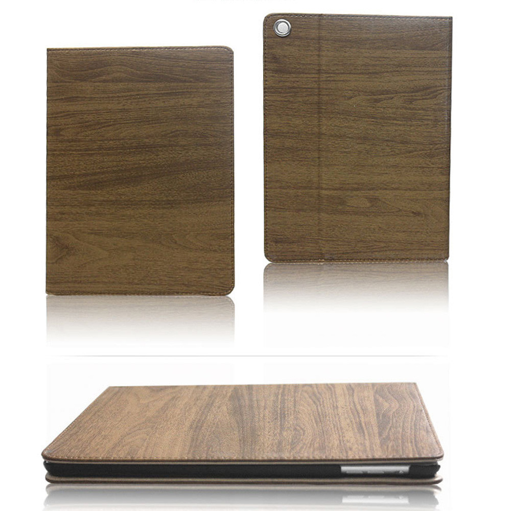 for ipad air 2 10inch Tablet Case Cover Dust-Proof wood Color