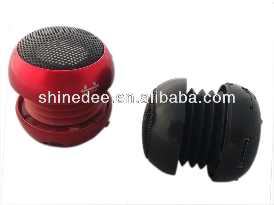 for mobil phone/mp3/pc, cute waterproof mini small speakers(SP-109)
