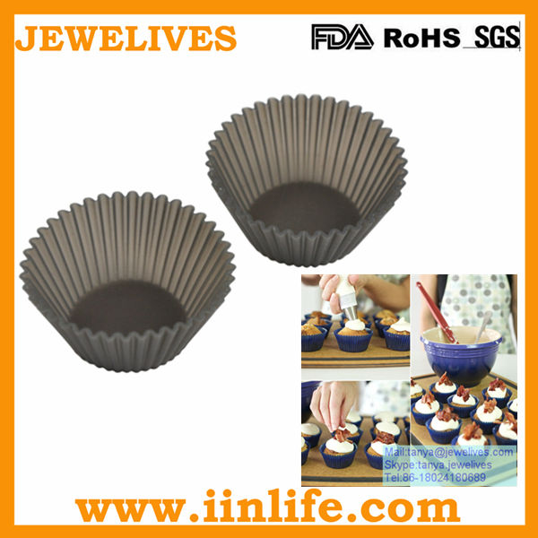 High quality silicone cake cup mould,cup cake mould