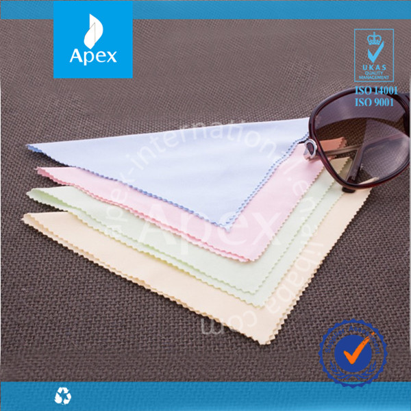 Bulk Personalized Microfiber Lens Eyeglass Cleaning cloths