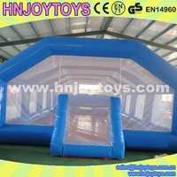 Easy set up inflatable soccer cage, sport game soccer cage