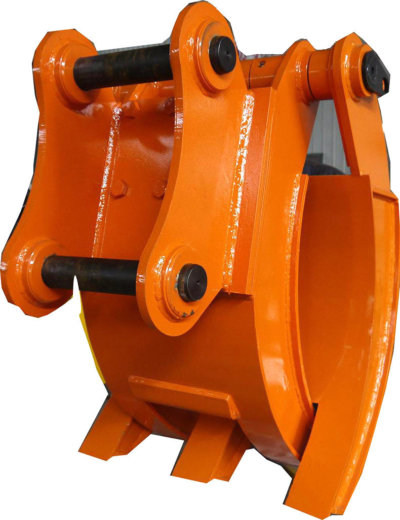 china factory supply mechanical parts log grapple with stick and pins for Hitachi EX60 on sale