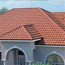 Classical metal coated fire resistance zinc stone coated steel roofing tile