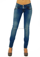 hot style Brazilian style sexy skinny women gender tight denim jeans manufactures in China