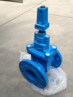 Flange End Worm Gear Water Ductile Iron 4 -Inch Gate Valve Price