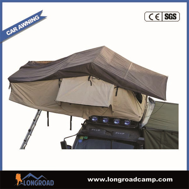Camping trailer used army tent