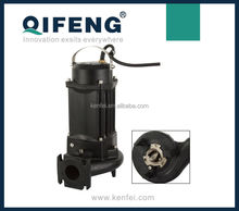Small electirc motor submersible sewage grinder pump