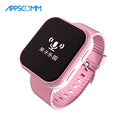 2017 APPSCOMM Smart Watch Bluetooth GPS Positioning Kids Safety Tracker Wristwatch with Phone Calling for Android or IOS