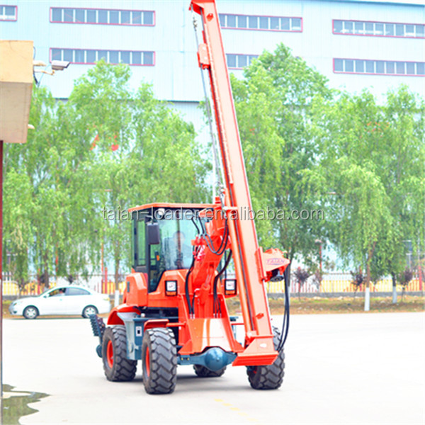 tractor mounted pile driver, hydraulic rotary/hammer pile driver for sale