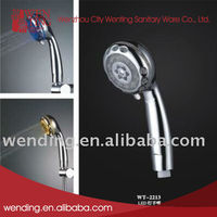 Eco-friendly top quality LED rainfall handheld dual shower head