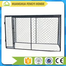 Heavy duty large outdoor welded wire dog run kennel