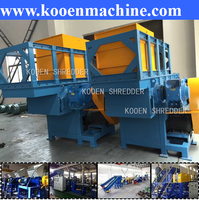 China company factory one single shaft shredder plastic price