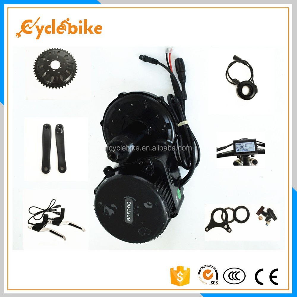 Bafang mid crank motor 48v 750w bbs-02 8FUN motor with lithium battery