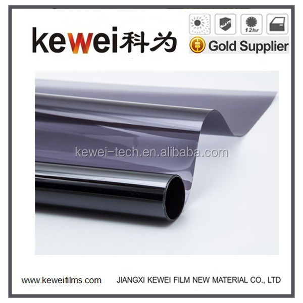 100% UV solar control adhesive decoration car film with high quality, Heat resistant window film