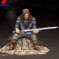 OEM Ancient Swordman Collected Polystone Sculpture Handicraft