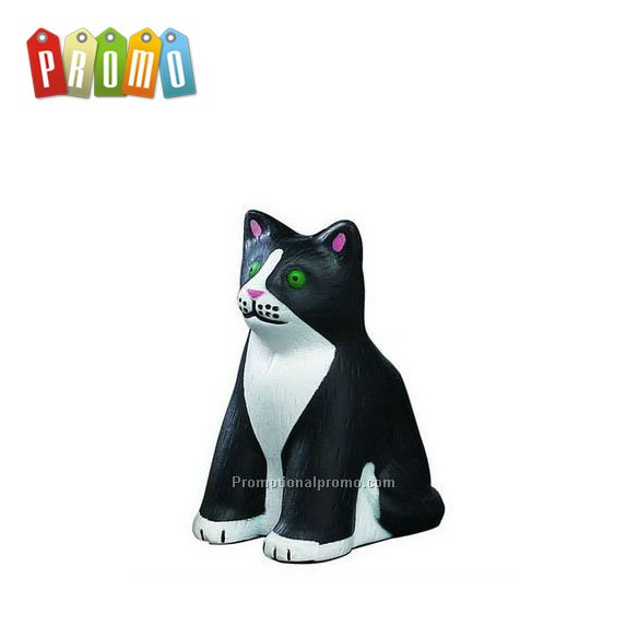 Promotional customized PU Cat Stress Reliever/Stress Ball/Squeeze Toy