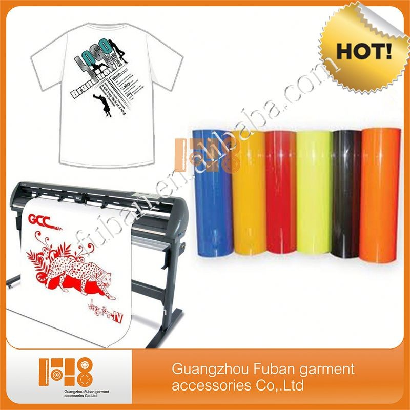 Alibaba China high quality PU printable wholesale heat transfer vinyl /heat transfer film