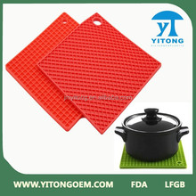 OEM kitchen Table Decoration & Accessories silicone Mats & Pads / cup mat