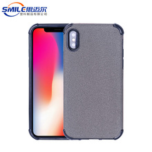 Customized tpu+pu case for iphone x leather