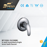 China Factory Durable In-Wall Mounted Bath Mixer , High Quality Concealed Installation Brass Bath Faucet with Chrome Planted