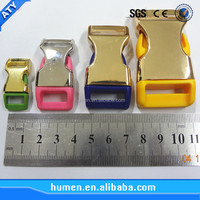 Wholesale colored metal quickly release buckles for pet,dog collars,packages