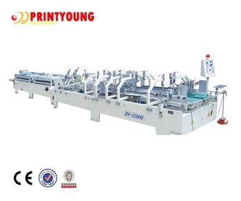 ZH-1200G Automatic Box Folding and Gluing Machine