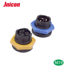 M19 3 pin female power cord connector