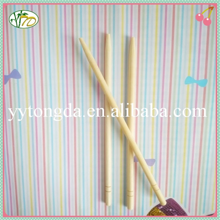 New product best-selling round bamboo chopsticks in bag