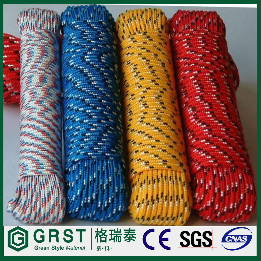 NTR quality braided 5mm 10mm pp/polypropylene rope