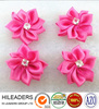 RT412 Wholesale High Quality Curling Satin Ribbon Flowers