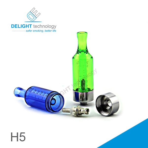 2013 new product e cigarette clearomizer Ego battery Compatible with gs h5 clearomizer atomizer