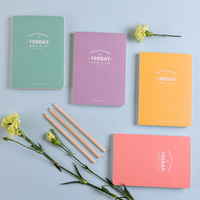 LANGUO Style 100 Days Planner Notebook