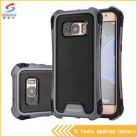 Shockproof 2 in 1 pc tpu hybrid Phone Case for Samsung S7edge