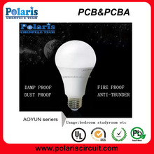 wholesaler E27 7W PC+Aluminum highlight LED bulb