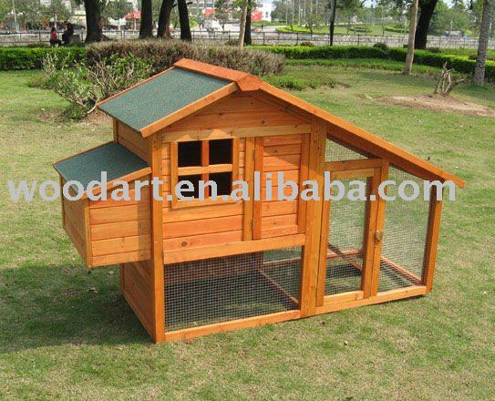 Wooden chicken coop galvanized wire mesh chicken laying cage quail cage
