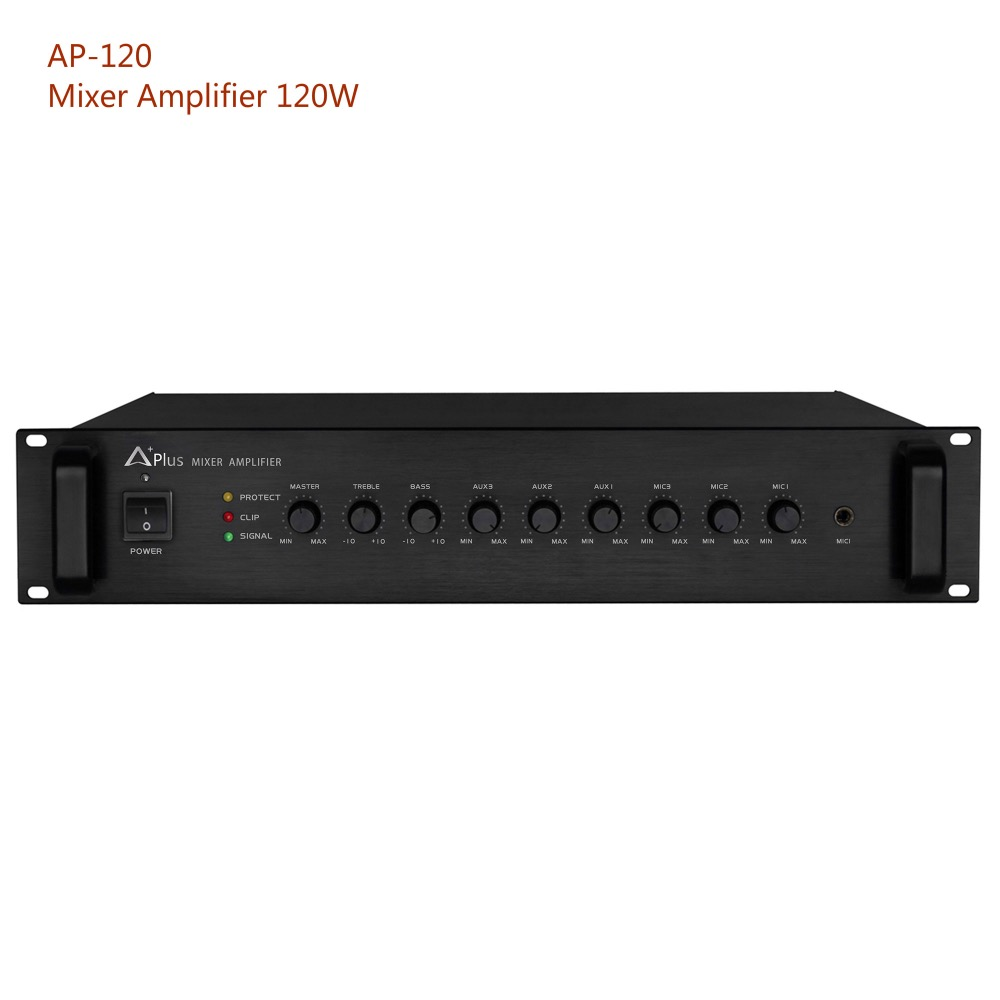 AP-120 120W sound system reliable mixer power amplifier
