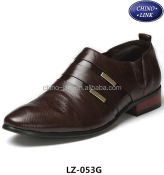 cheap fashion mens formal shoes commerce shoes leather