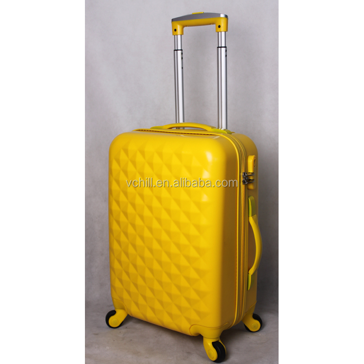 Yellow bags cases unique travel luggage