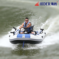 Hider motorized high quality inflatable water sport boat in the water