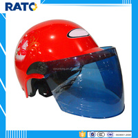 Cool red half face motorcycle scooter helmets for sale