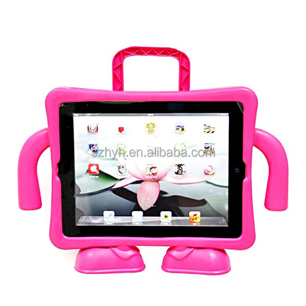 2016 hotsale kids proof child proof rubber silicone foam tablet case cover for ipad 9.7 inch 10.1inch 7.9 inch